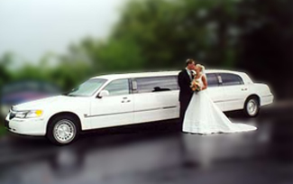 wedding Vancouver limo