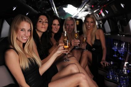 party in Vancouver limo